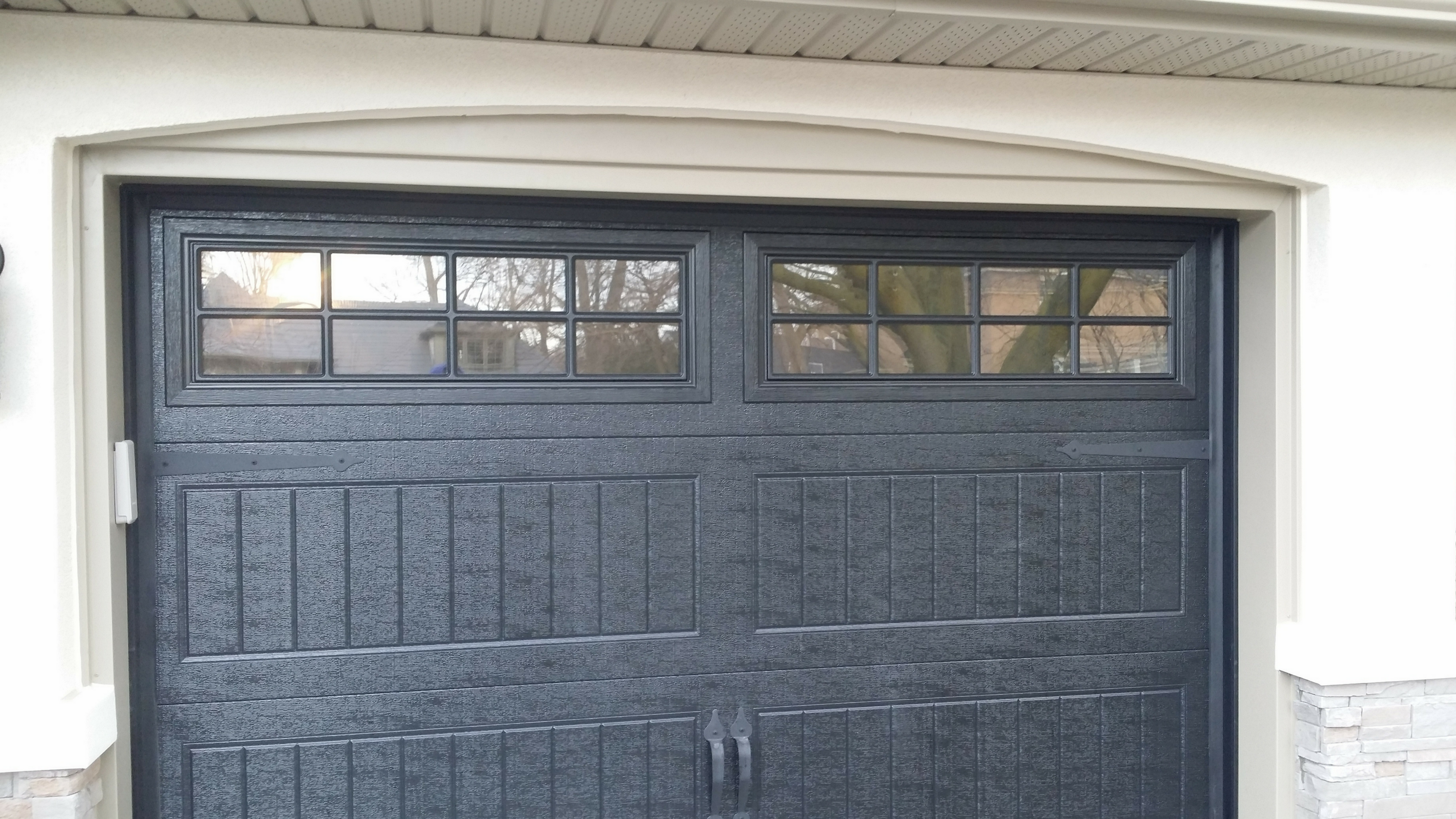 SOFFIT, FASCIA AND CUSTOM OVAL GARAGE CAPPING